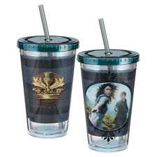 Outlander TV Series Photo Poster 18 oz Acrylic Travel Cup with Straw, NEW UNUSED