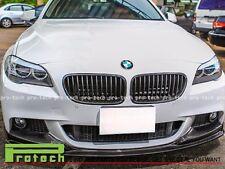 3D Style Carbon Fiber Front Bumper Lip Fits 2011+ BMW 528i 535i 550i M sports