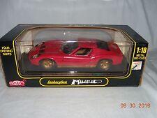 Anson Diecast Lamborghini Miura - 1:18 Scale Care Model (NIB)