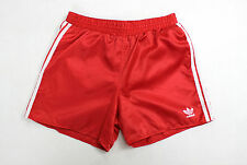 ADIDAS RARE VINTAGE 70S 80S SHINY RED RUNNING MENS/WOMENS SPRINTER SHORTS S
