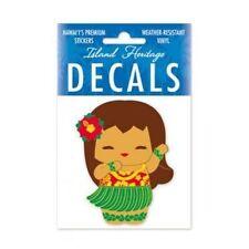 """2"""" Island Yumi Aloha Girl Hawaiian Hawaii Vinyl Car Decal Window Sticker #01879"""