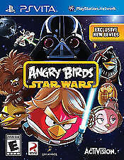 Angry Birds Star Wars RE-SEALED Sony PlayStation Vita GAME
