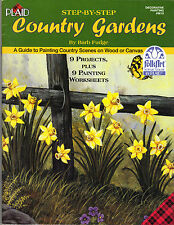 Step-by-Step Country Gardens by Barb Fudge~Gorgeous Toles