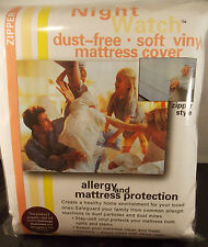 "SOFT VINYL MATTRESS COVER----FULL 9""----ALLERGY & BED BUG PROTECTION-DUST FREE"