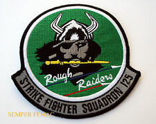 VFA125 ROUGH RAIDERS STRIKE FIGHTER SQUADRON PATCH NAS LEMOORE PIN UP A4 A7 FA18