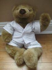 "Plush 18"" Russ Berrie Build A BEAR Judo Karate Stuffed Animal Tan Valentines Day"