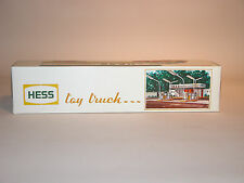 HESS 1976 BOX TRAILER  MINT IN THE BOX