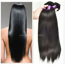 100% Real Brazilian Straight 4 Bundles Total 200g Remy Human Hair Extensions