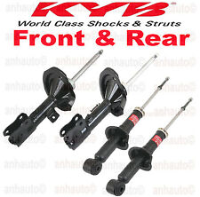 Set of 4 KYB Rear Shocks/Struts FRONT & REAR Mitsubishi Lancer GTS 2008 to 2011
