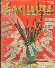 Esquire Magazine--Dec. 1951-----111
