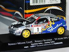 RENAULT MEGANE COUPE SPA 1998 OPENING HOOD V. ICKX / J. ICKX ONYX 99014 1/43