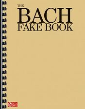 The Bach Fake Book Sheet Music Piano Book NEW 002501427