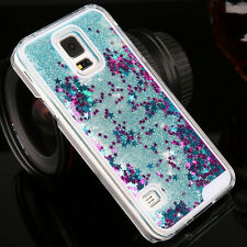 Luxury Glitter Star Liquid Back Phone Case Cover for Samsung Galaxy S4/5/6/6Edge