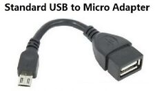 USB A 2.0 Female to Micro USB B Male OTG Adapter Date Cable Gift