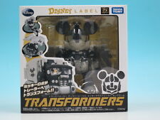 Transformers Disney Label Mickey Mouse trailer monochrome Action Figure Taka...