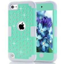 Glitter Diamond Hybrid Armor Cover Case for iPod Touch 5th 6th Generation Shell