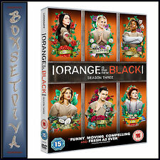 ORANGE IS THE NEW BLACK - COMPLETE SEASON 3 *BRAND NEW DVD***