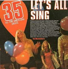 RECORD LET'S ALL SING 35 ALL TIME SING-A-LONG GREATS HALLMARK 1974 33 1/3rpm LP