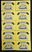ship Safety Matches pack of 20 boxes  at approx 40 per box
