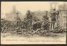 GUERRE WAR KRIEG 14/18 CARTE POSTALE MARNE INFANTERIE ANGLAISE ENGLISH INFANTERY
