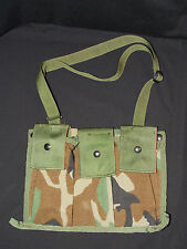 Military Issue MOLLE II Woodland 6 Mag Bandoleer w/ Carry Strap Excellant - New