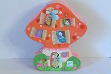 "Djeco ""The House of Elves"" Whimsical Mushroom Children's Puzzle NEW"