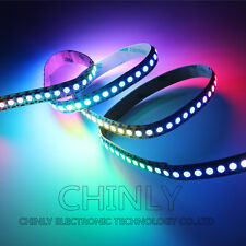 WS2812b  DC5V Pixel RGB led strip,1meters 144LED 144IC SMD5050 Non Waterproof