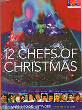 12 Chefs of Christmas by Carlton Food Network (Hardback 1999) from hit TV series