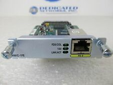 Cisco HWIC-1FE 1 Port Fast Ethernet High-Speed WAN Router Module Interface Card
