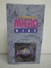 VHS MOVIE- WINNING AT WEIGHT LOSS- THE AMAZING MICRO DIET- UNI-VITE- USED- L50