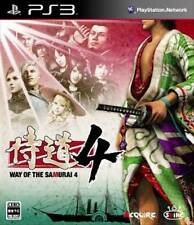 Samuraidou Way of the Samurai 4 PS3 SONY PlayStation 3 Used Japanese Game