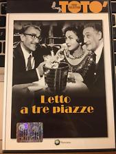 LETTO A TRE PIAZZE- DVD USATO VERS.EDITORIALE