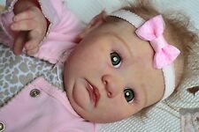 Reborn Doll Adorable Cute Baby Girl Hannah by Jessica Schenk Reallife