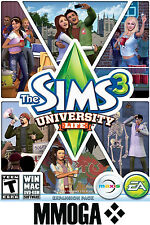 The Sims 3 University Life - EA ORIGIN Code - PC Game Key DLC Add-on NEW [EU/UK]