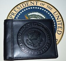 OFFICIAL OBAMA PRESIDENTIAL SEAL LEATHER WALLET~NEW WHITE HOUSE STAFF GIFT ITEM
