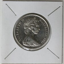 Australia 1981 Uncirculated Twenty 20 Cents 3 1/2 claw canada mint (320527/C3)