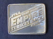 STAR WARS Empire Strike Back Metal Medallion Paperweight Super Rare