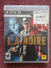 L.A. Noire (Sony PlayStation 3, 2011)  includes Disk, Manual and Case