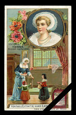 Victorian Trade Card: Vintage Original 1909 LIEBIG Advertising