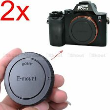 2x Finely-made Body Cover Cap for Sony NEX-5 NEX-5N E-mount Micro SLR Camera