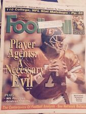 College And Pro Football Newsweekly John Elway September 12, 1996 Denver Broncos