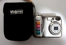 Nikon COOLPIX 3200 3.2 MP Digital Camera Silver Work Well Have Memory Card 128MB