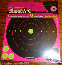 """6 8"""" 72 PAST SELF ADHESIVE TARGET SPOTS TARGETS RIFLE SHOOTING STICKERS SHOOT"""