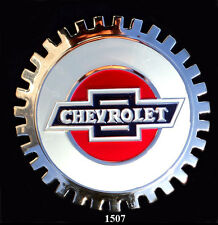 VINTAGE CAR GRILLE EMBLEM BADGES - CHEVROLET