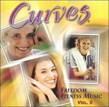 Various Artists Curves Freedom Fitness Music 5 CD