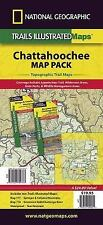 National Geographic Trails Illustrated GA / SC Chattahoochee Map Pack 1020451