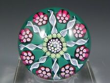 Perthshire PAPERWEIGHT MILLEFIORI LATTICINO PPCC Paperweight Collectors Club
