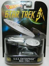 2016 Hot Wheels HOLLYWOOD *STAR TREK* U.S.S. Enterprise NCC-1701 USS *NIP*