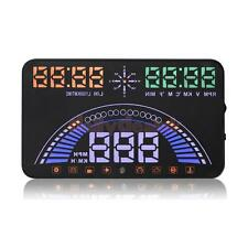 "5.8"" Universal Car GPS HUD Head Up Display Speedometer Speeding Warning"