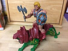 He Man And Battle Cat Action Figures Masters of the Universe MOTU